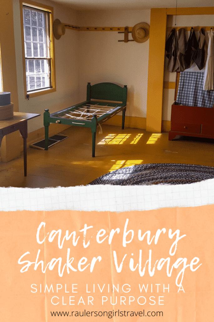 Canterbury Shaker Village Pinterest Pin