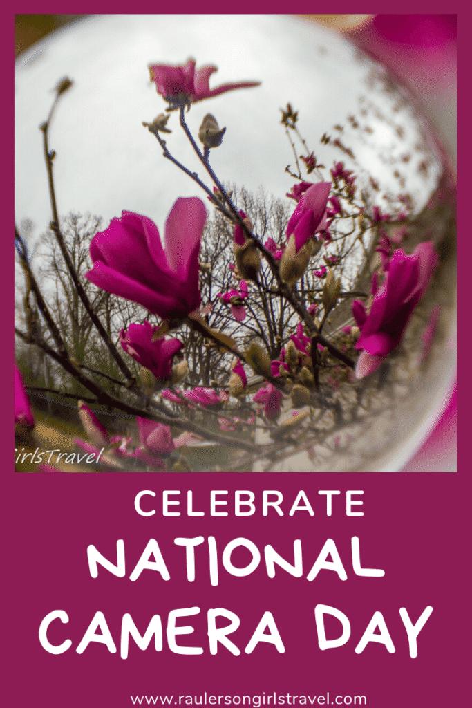 National Camera Day Pinterest Pin