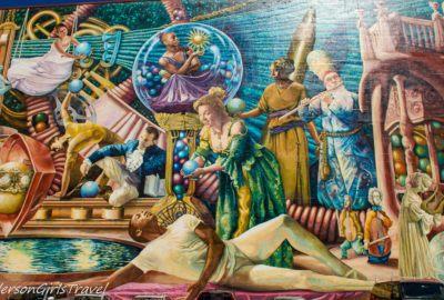 Philadelphia Muses by Meg Saligman on the Philadelphia Mural Mile