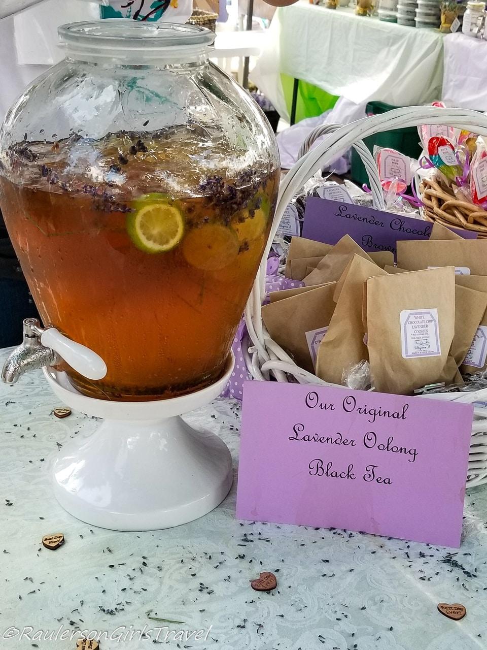 Lavender Oolong Black Tea
