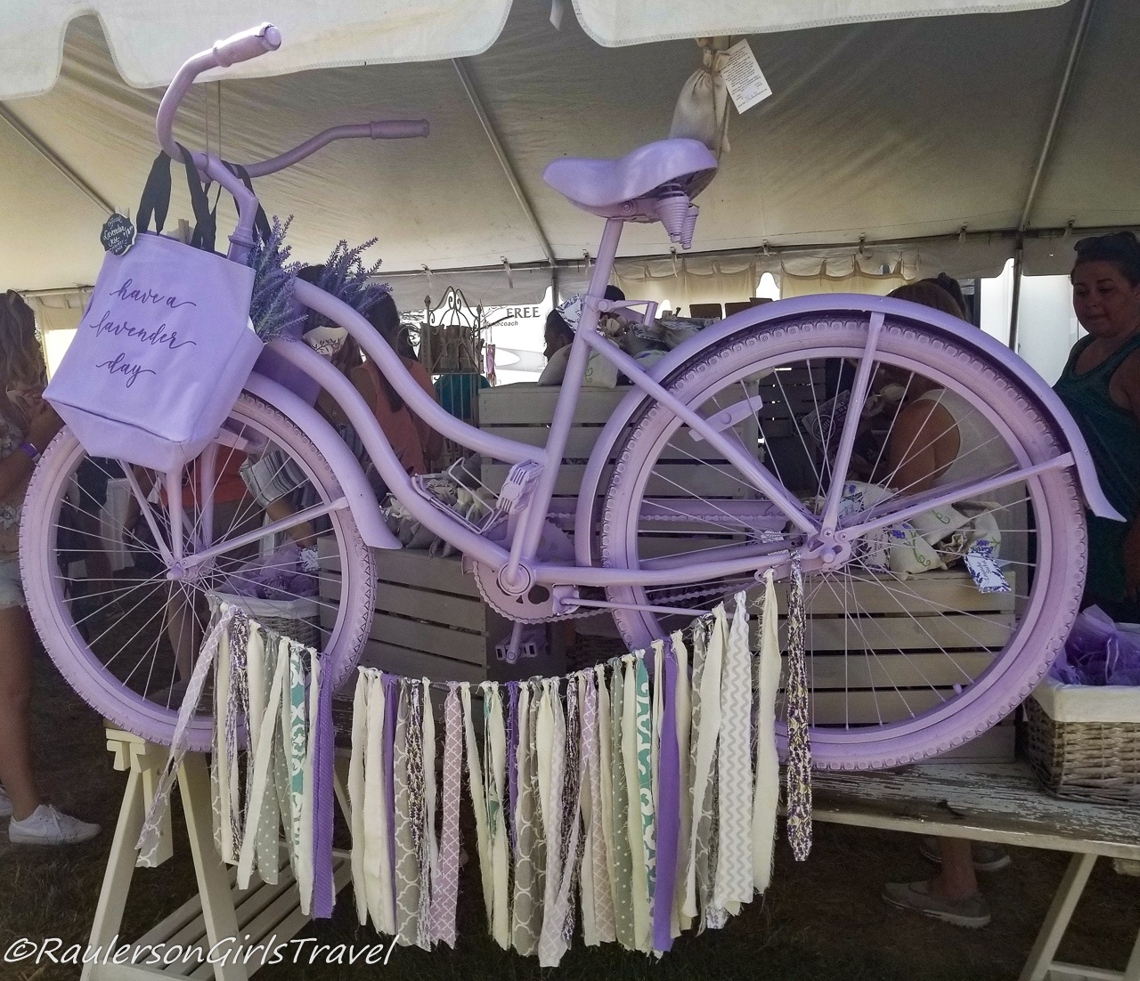 Have a Lavender Day Bike at the Michigan Lavender Festival