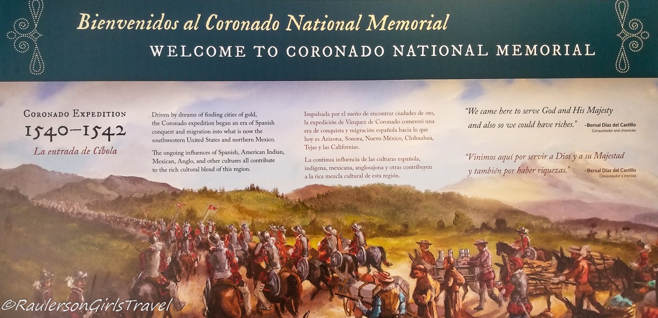 Coronado National Memorial Welcome Information