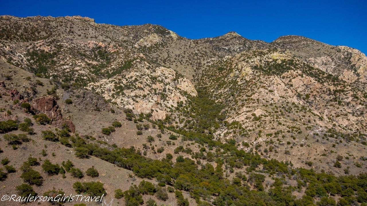 The Huachuca Mountains at Coronado National Memorial