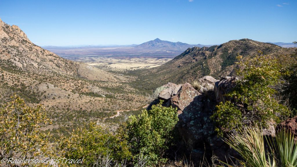 Beautiful view of Montezuma Canyon at Coronado National Memorial