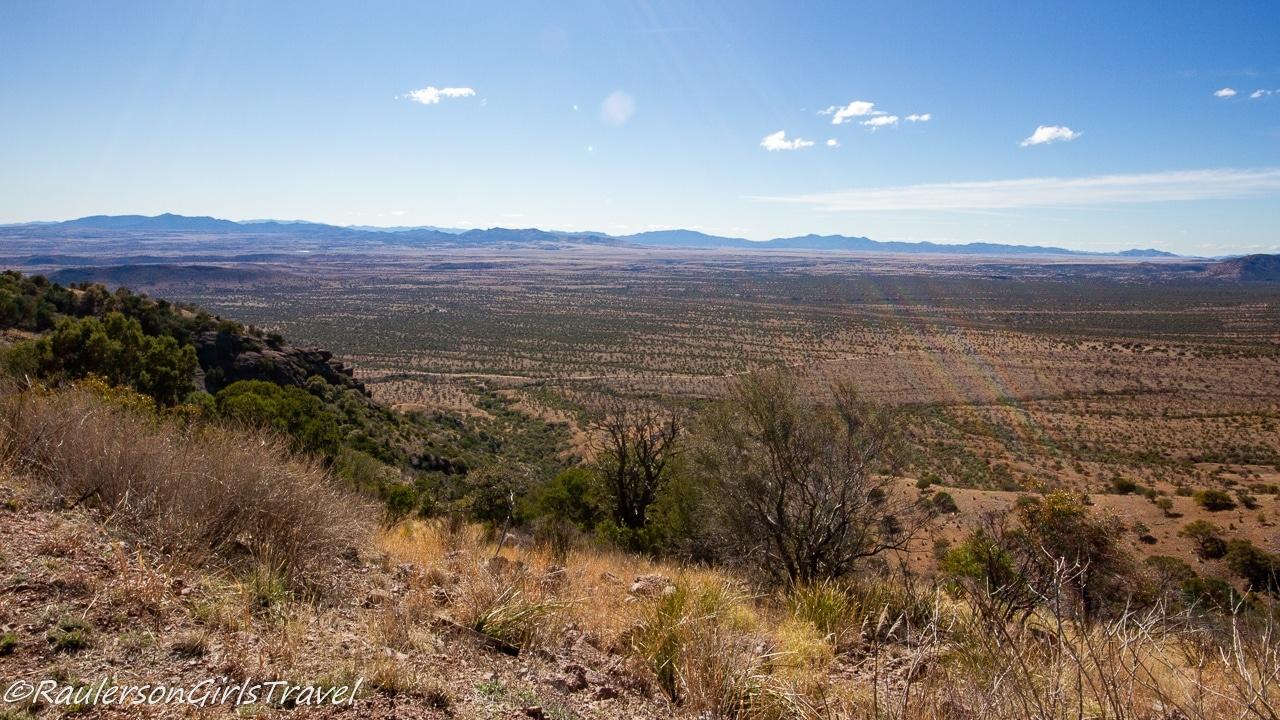 Desert Landscape of Arizona and Mexico