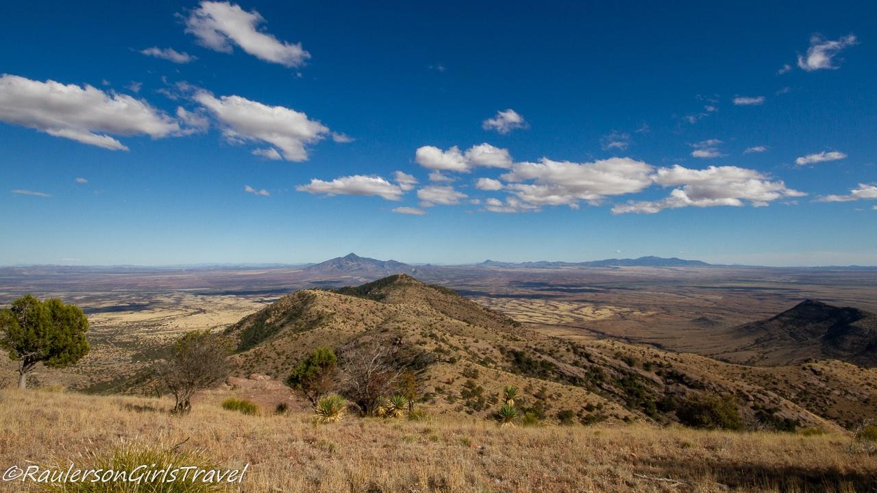 Southeast Arizona Landscape at Coronado National Memorial
