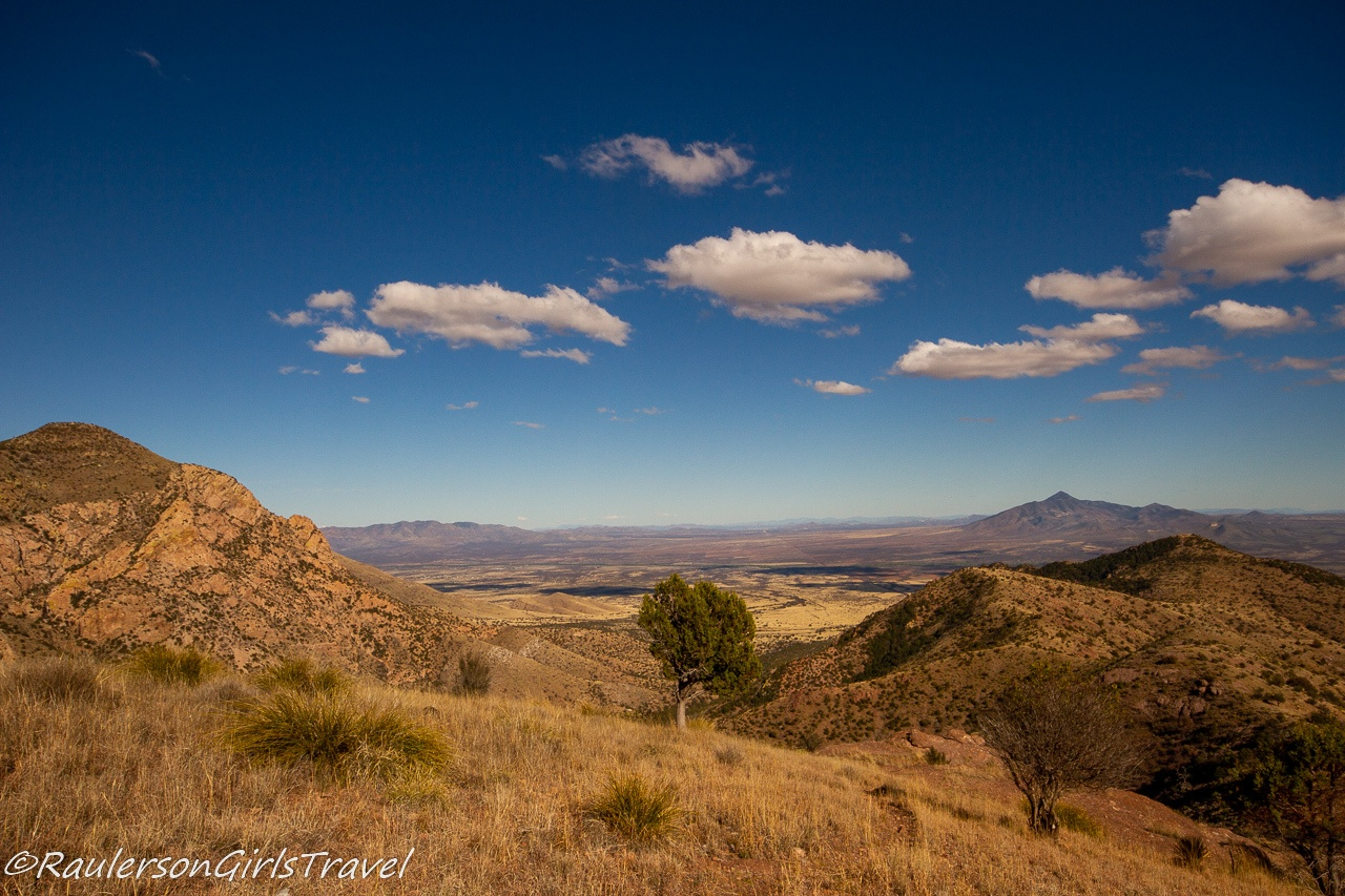 Looking South East from the top of Coronado Peak