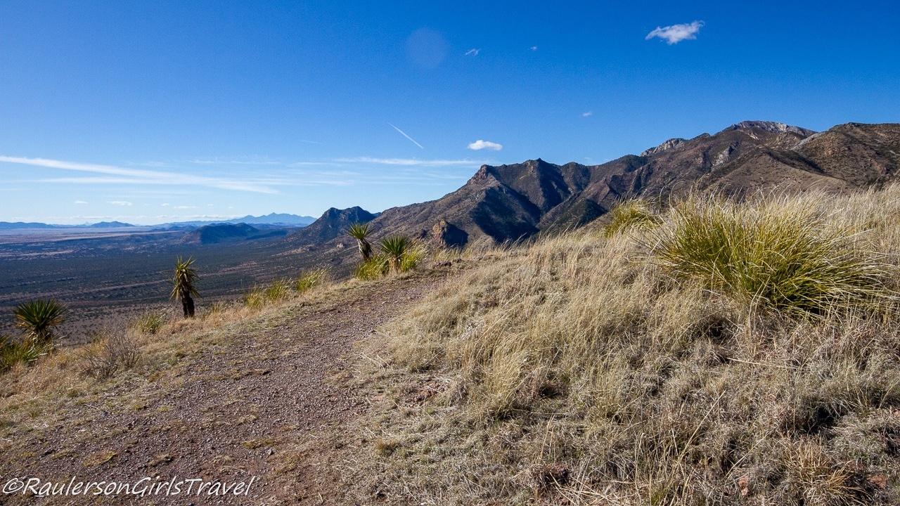 Hiking Path at the top of Coronado Peak