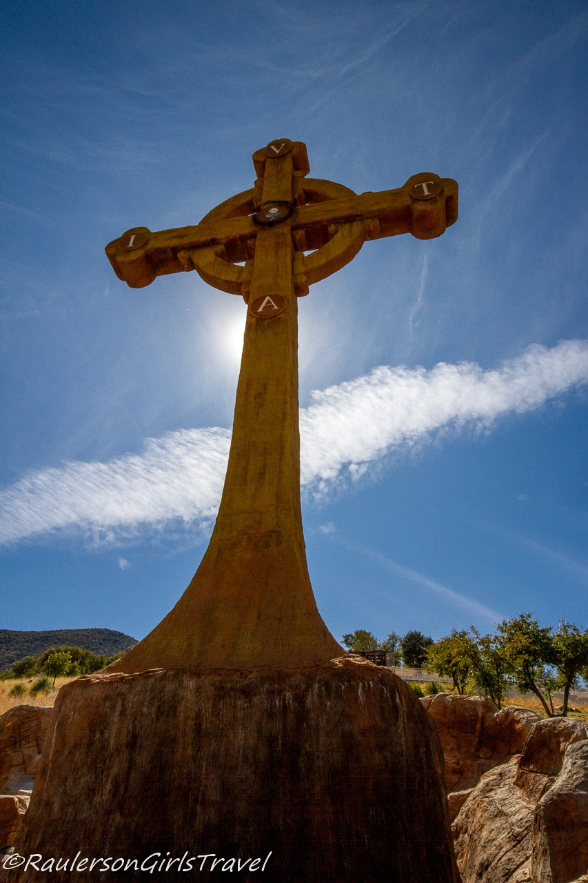 The Large Celtic Cross at Our Lady of the Sierras