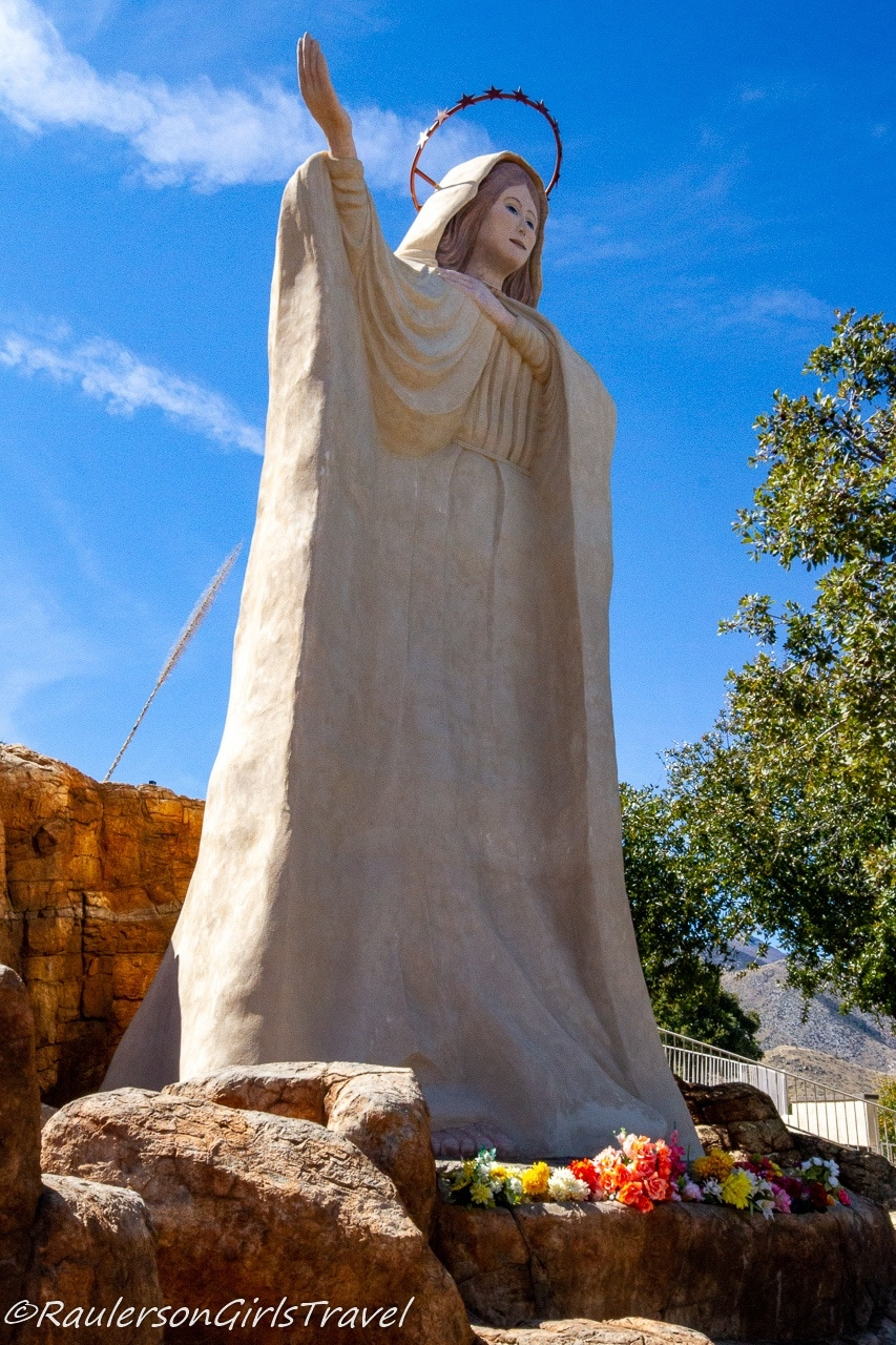 Our Lady's Statue at Our Lady of the Sierras