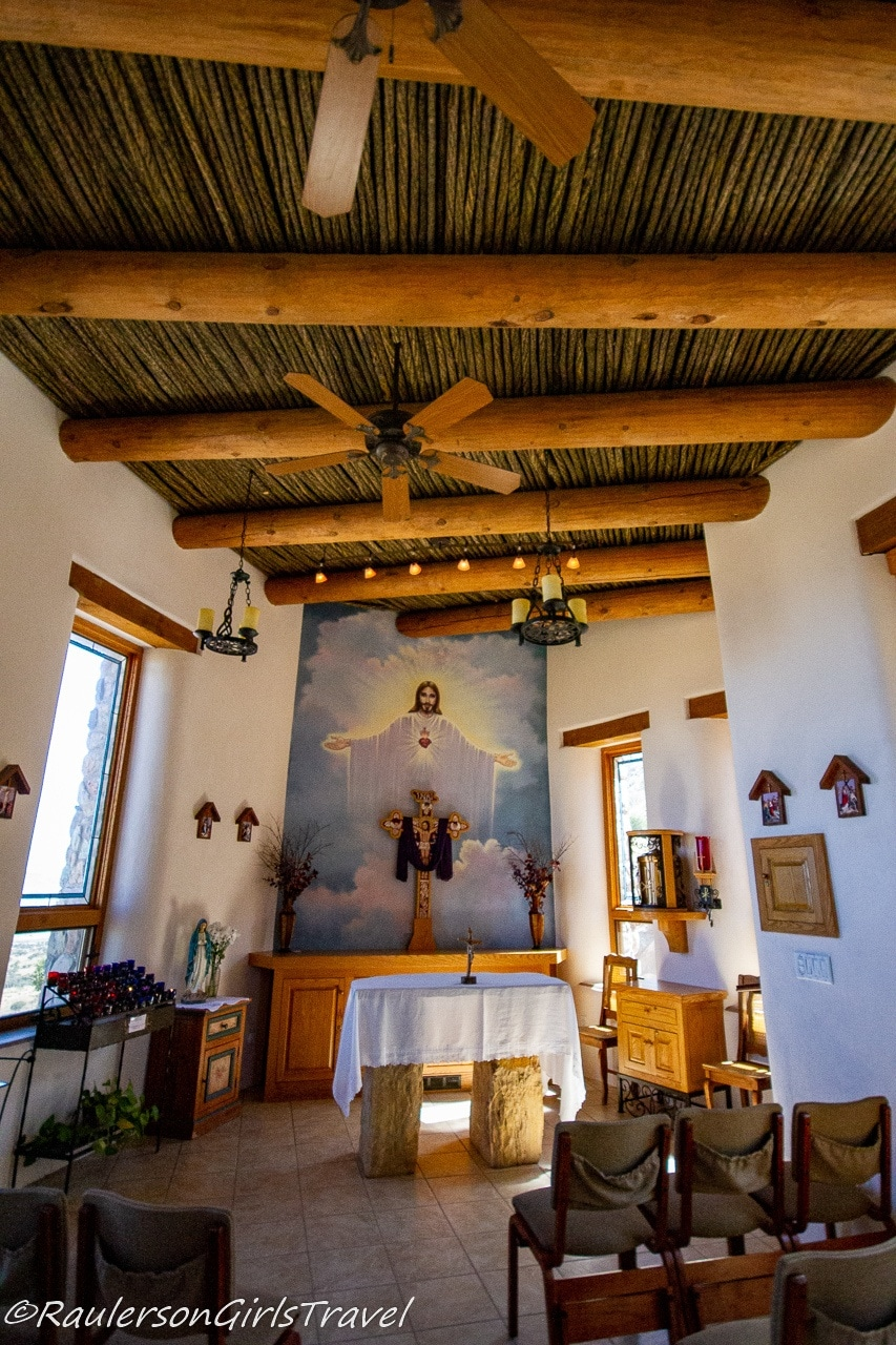 Inside the Chapel at Our Lady of the Sierras
