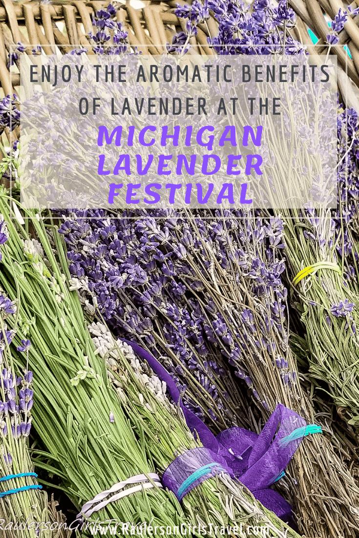 Michigan Lavender Festival Pinterest Pin