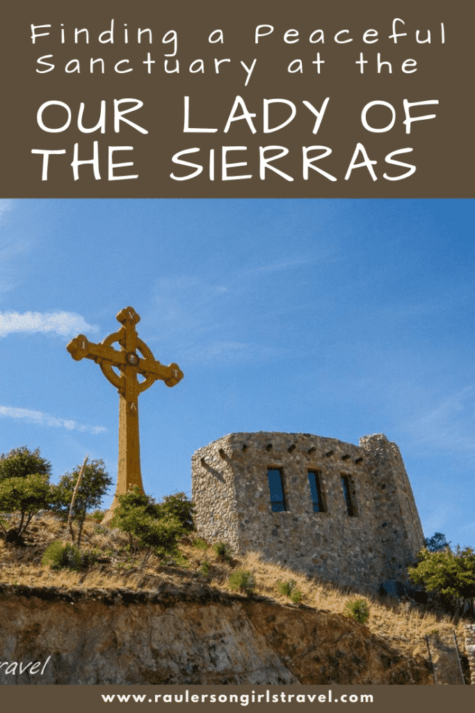 Our Lady of Sierras Pinterest Pin