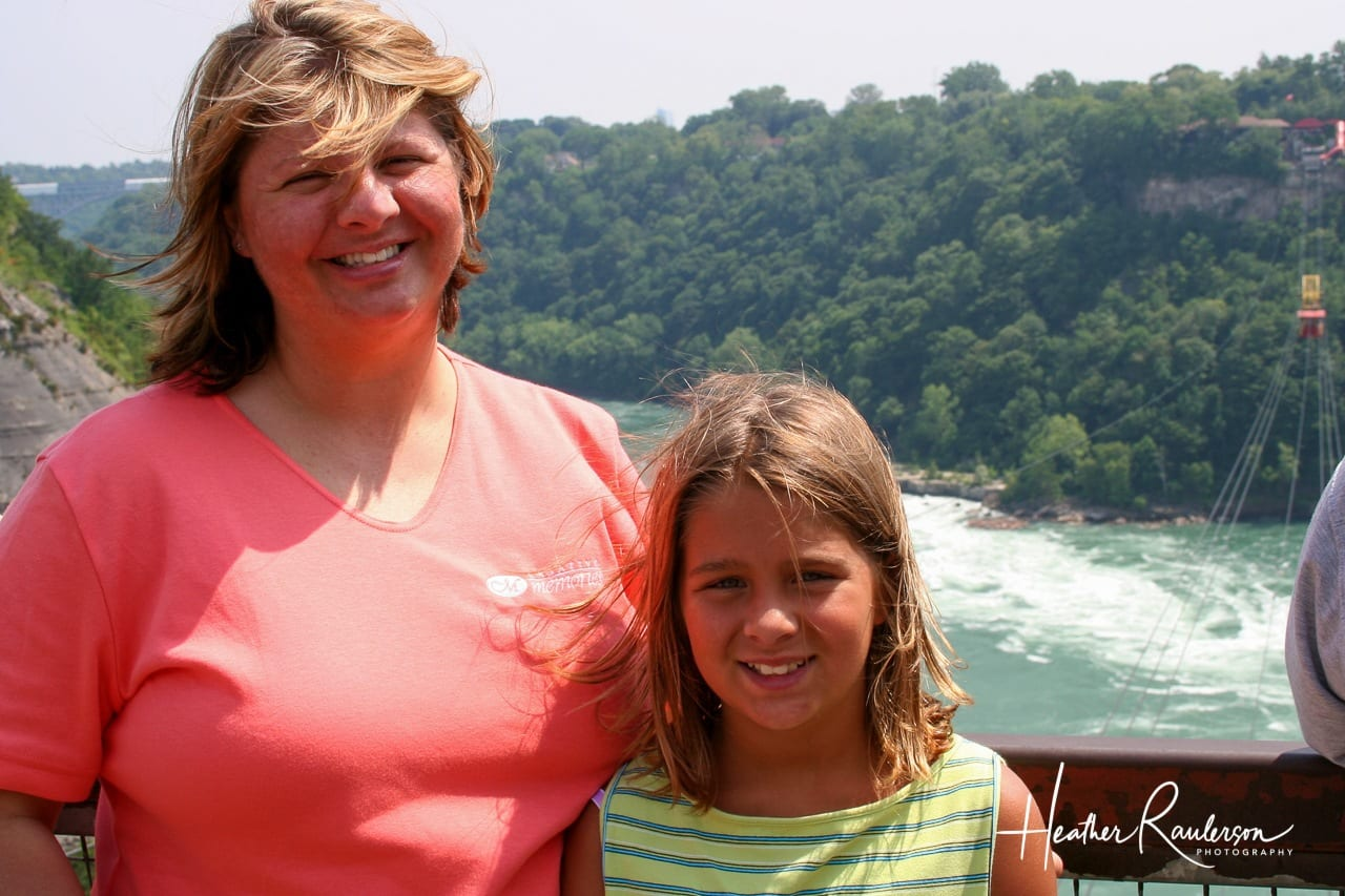 Heather and Kayla at Niagara Falls