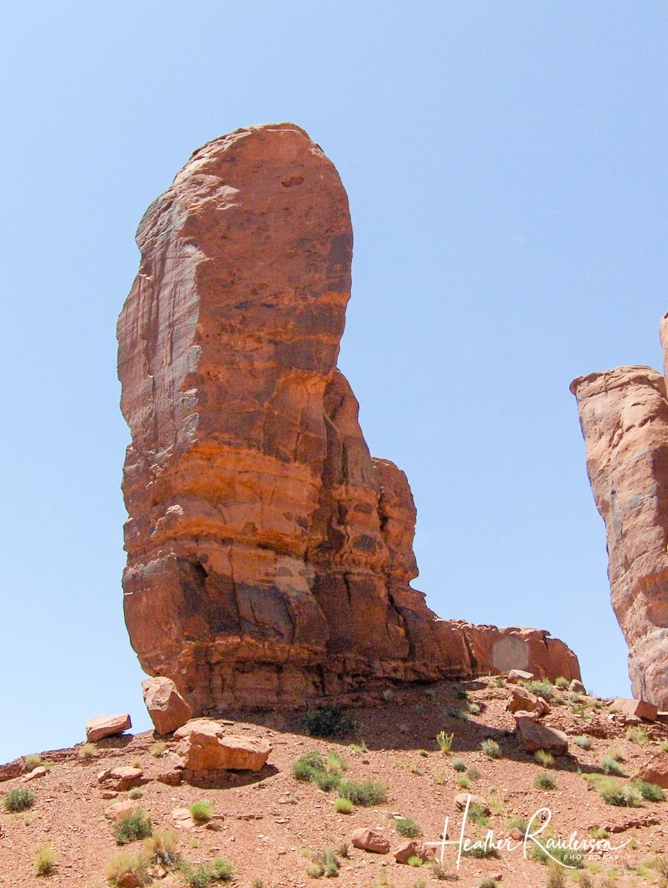 Thumb on Camel Butte