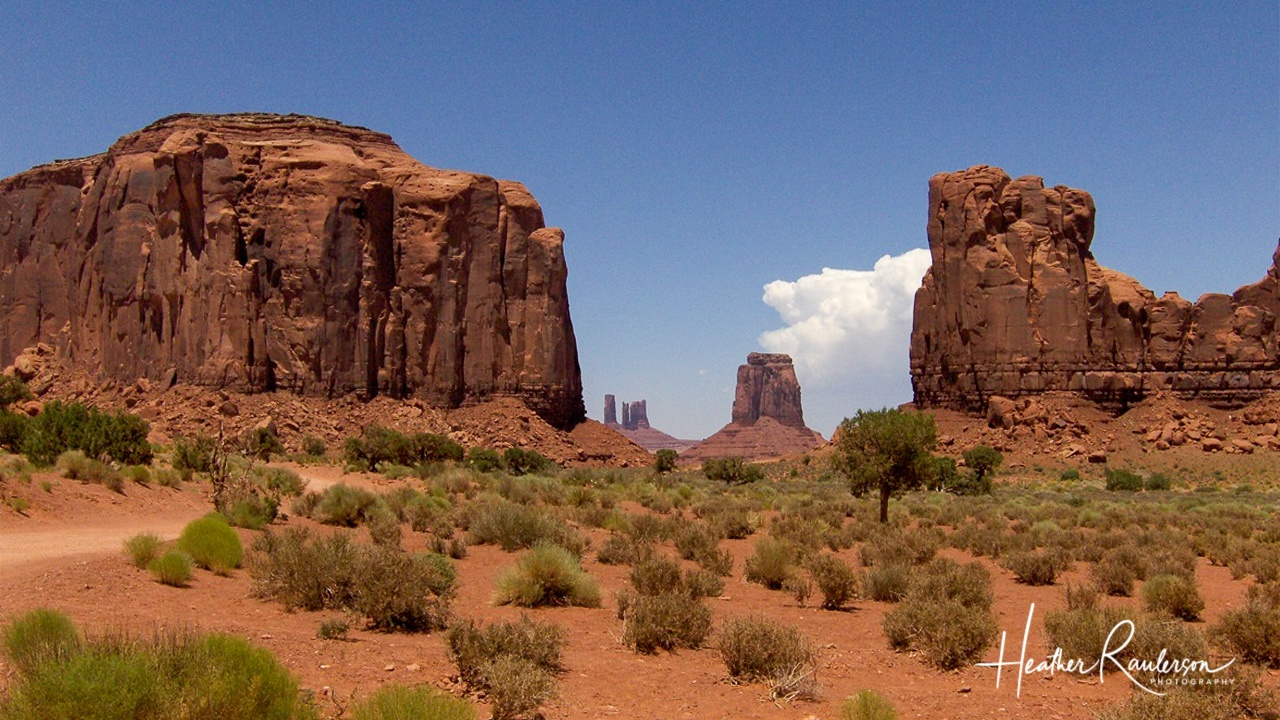 North Window View of Monument Valley
