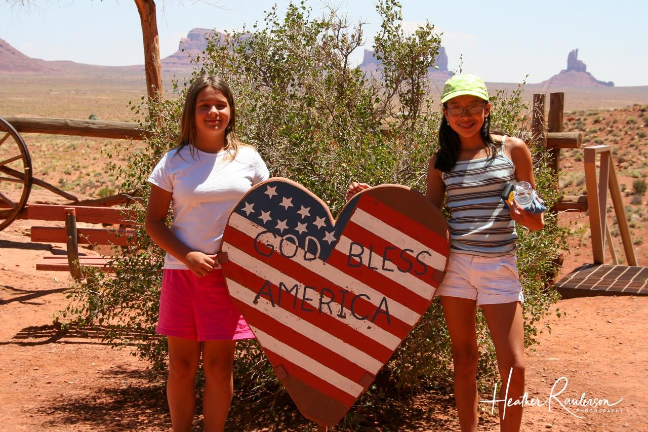Kayla and Liesl at Goulding's Lodge