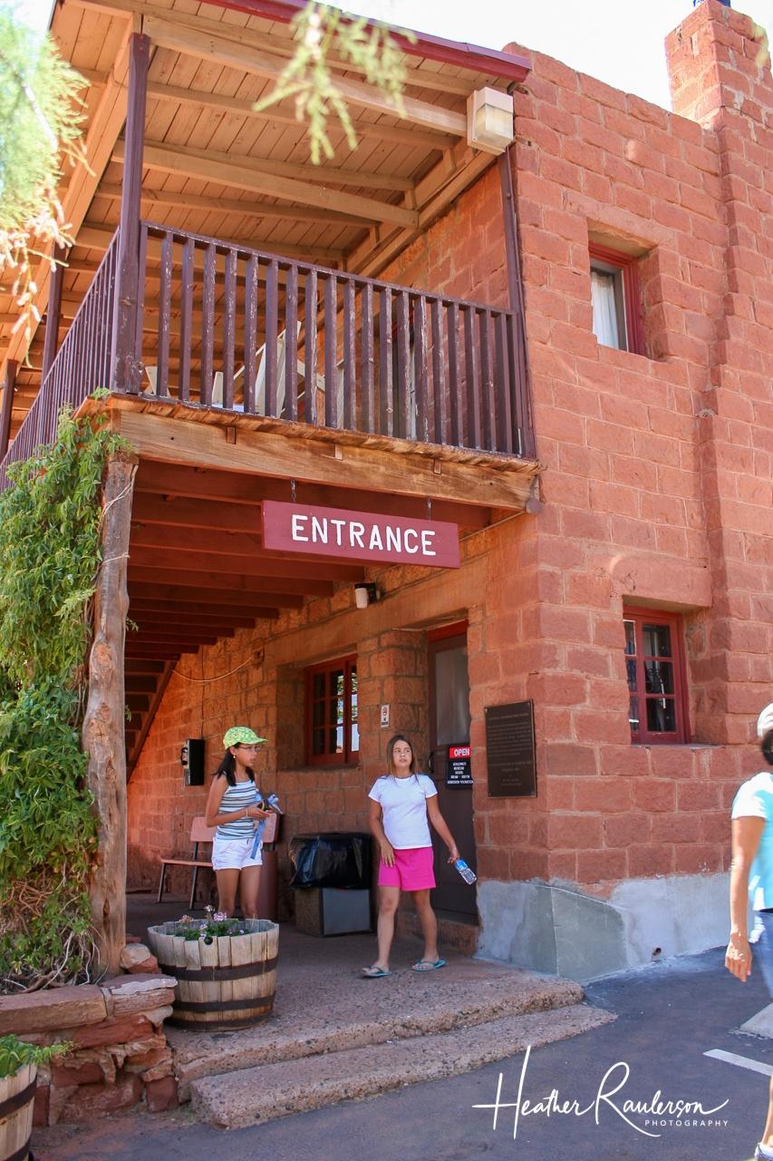 Goulding's Museum Entrance
