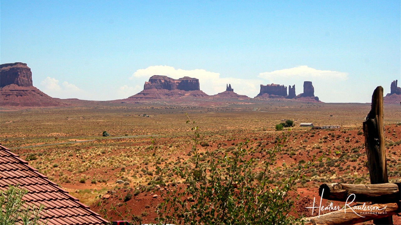 View of Monument Valley from Goulding's Lodge