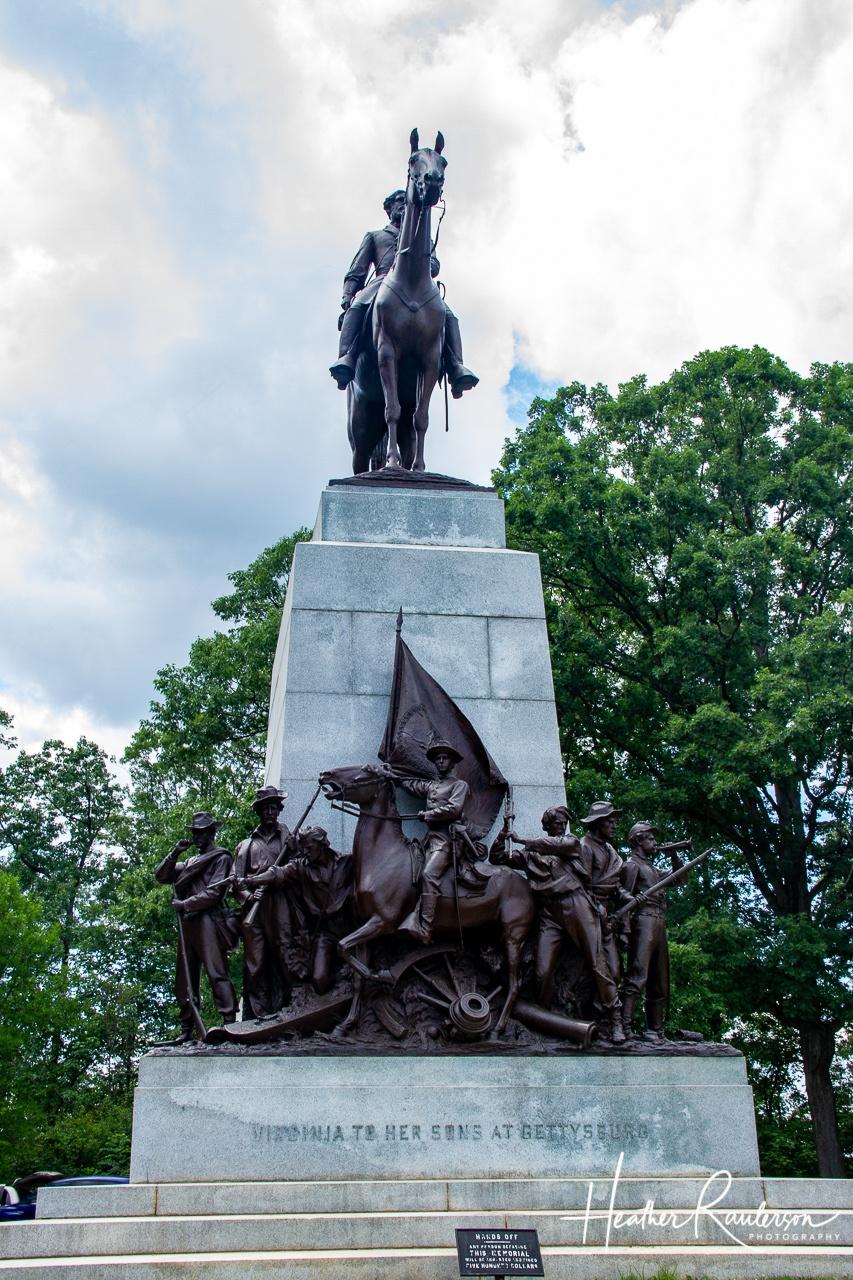 Virginia Memorial in Gettysburg