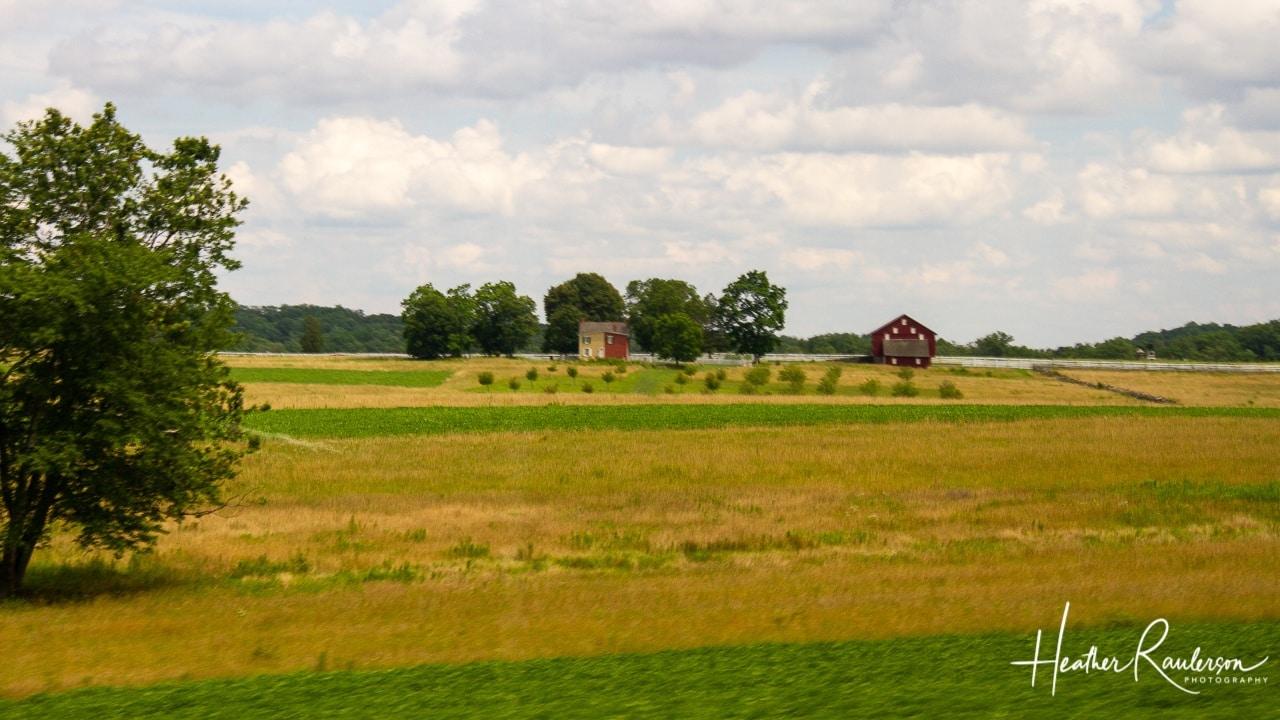 Sherfy Farm in Gettysburg
