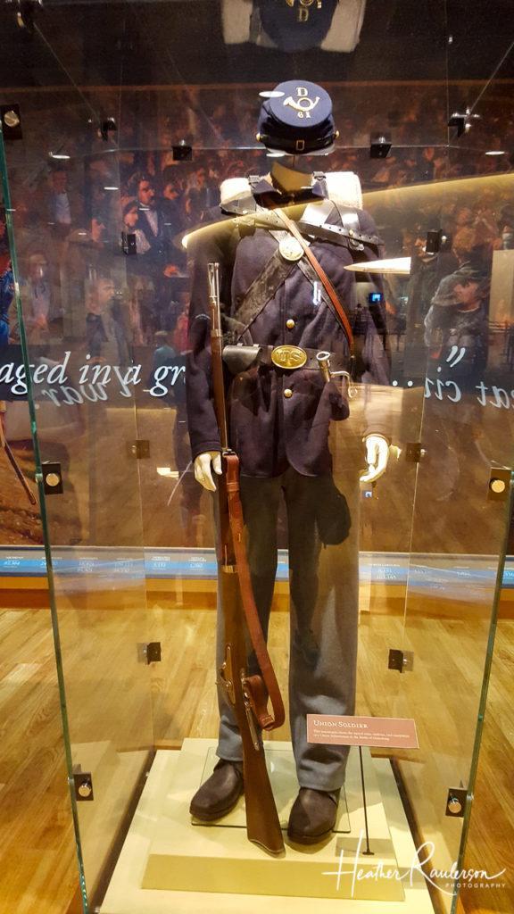 Gettysburg Union Soldier Uniform