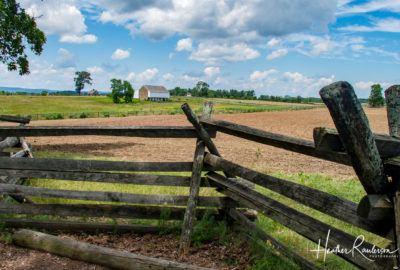 McPherson Ridge at Gettysburg