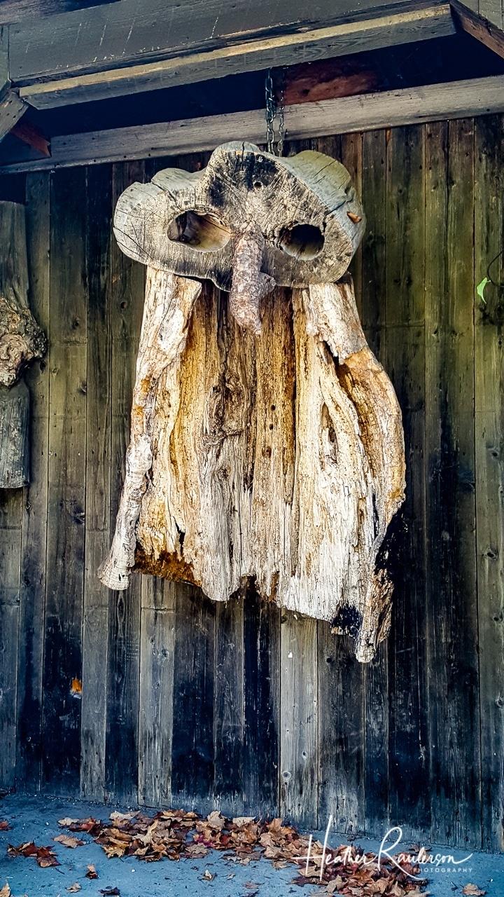 Owl Character Wood