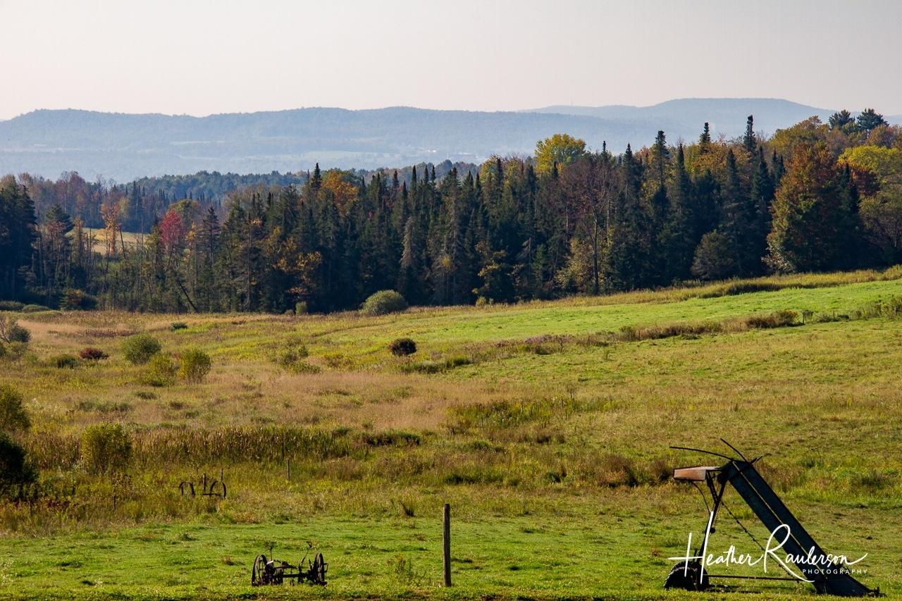 Morse Farm landscape in the fall