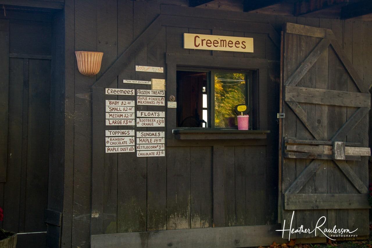 Maple Creemees at Morse Farm