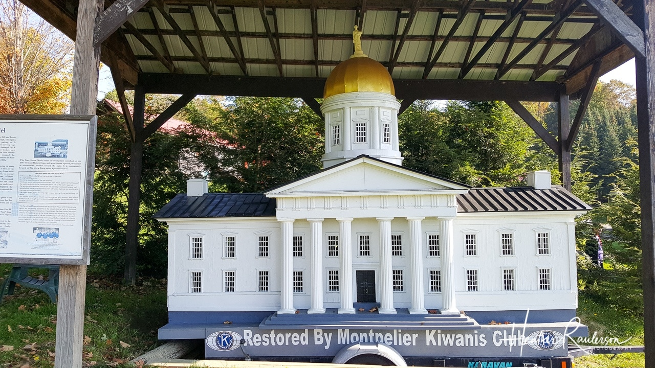 Model of the Vermont State House