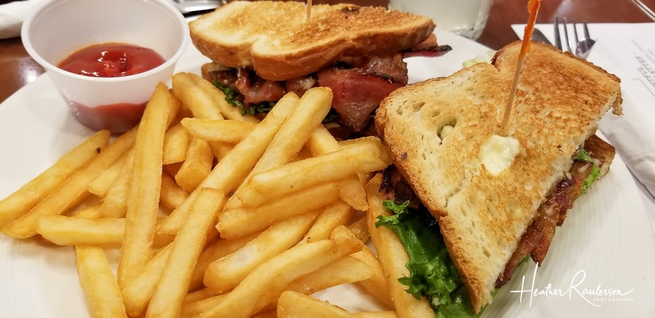 BLT at Du-par's at the Suncoast Hotel and Casino in Las Vegas