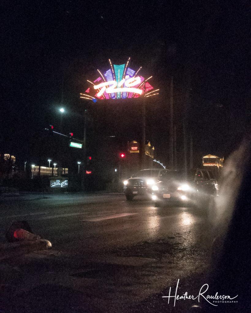 Rio Sign in Las Vegas