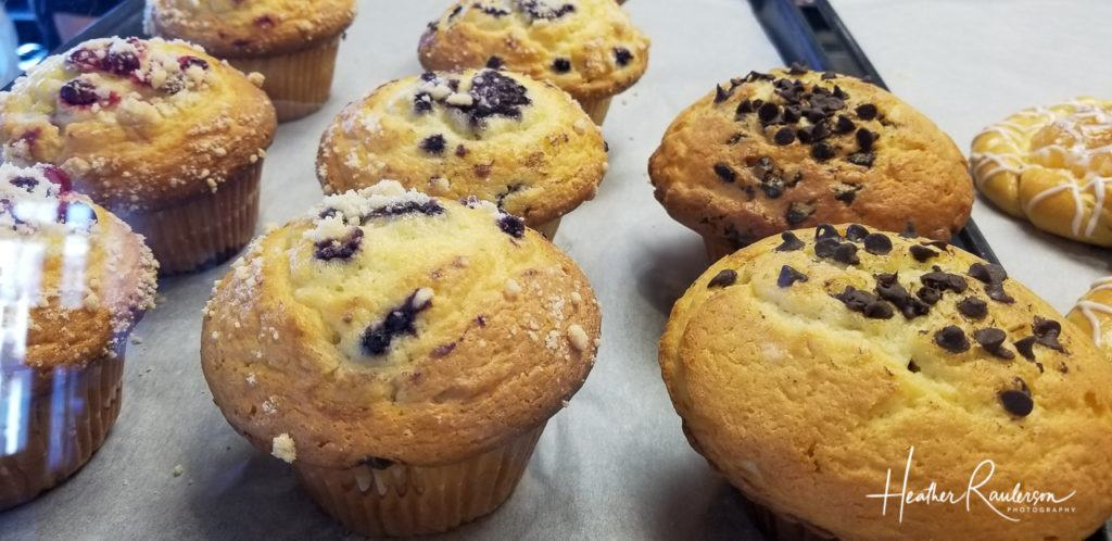 Muffins at the Bagel Cafe