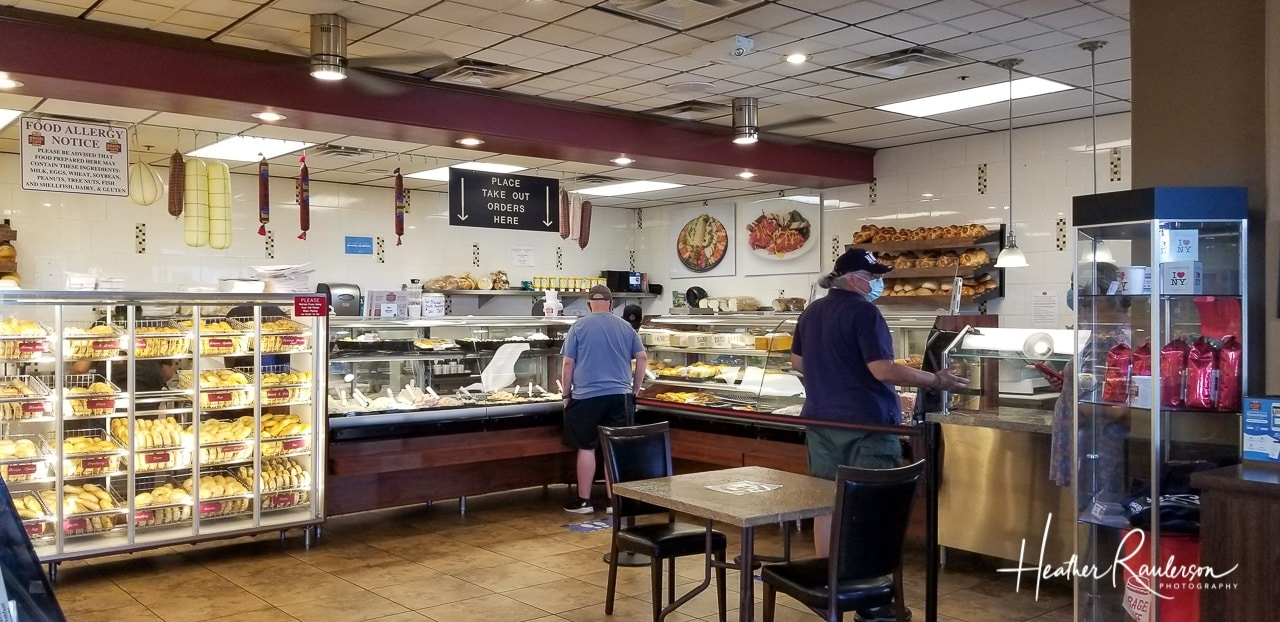 Social Distancing at the Bagel Cafe in Las Vegas