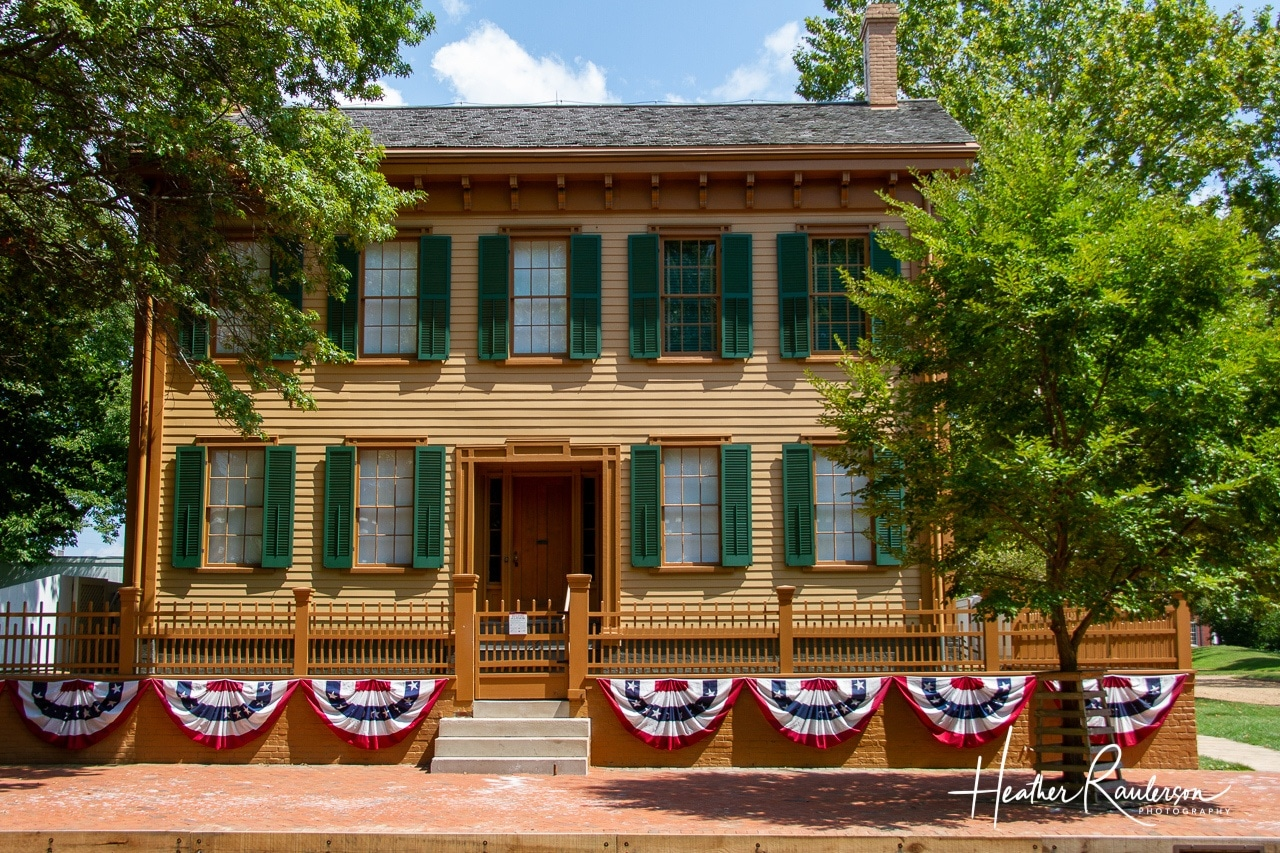 Abraham Lincoln Home in Springfield, Illinois