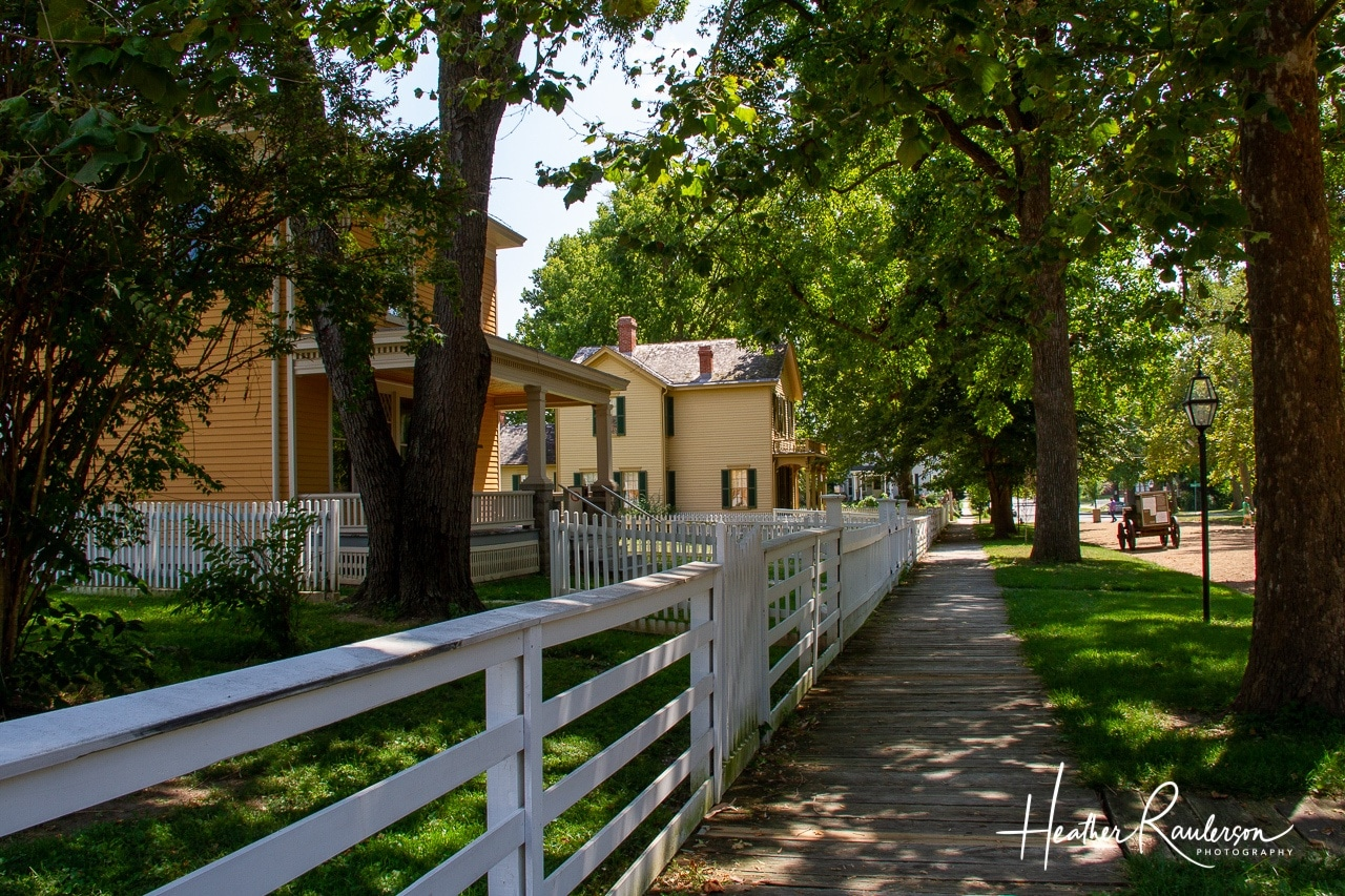 Walkway in Lincoln Home National Historic Site