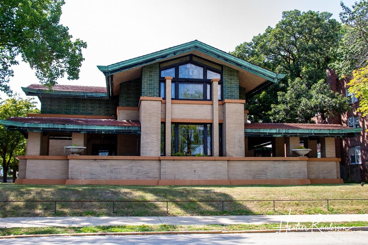 Dana Thomas House in Springfield