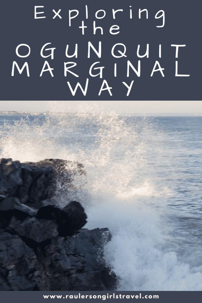 Ogunquit Marginal Way Pinterest Pin
