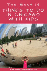 Things to do in Chicago with Kids Pinterest Pin