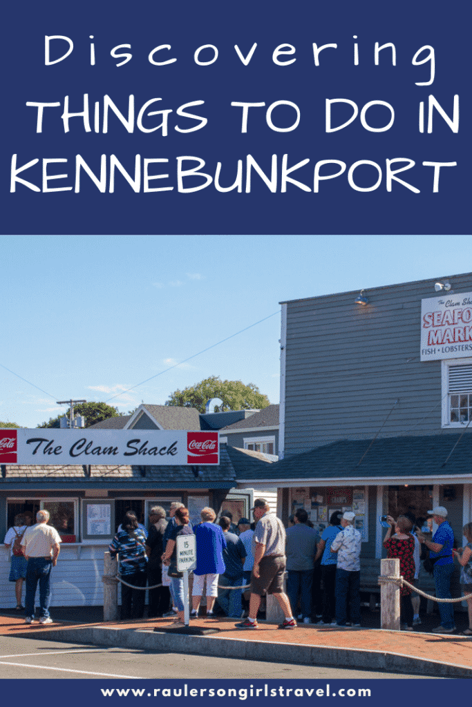 Things to do in Kennebunkport Pinterest Pin