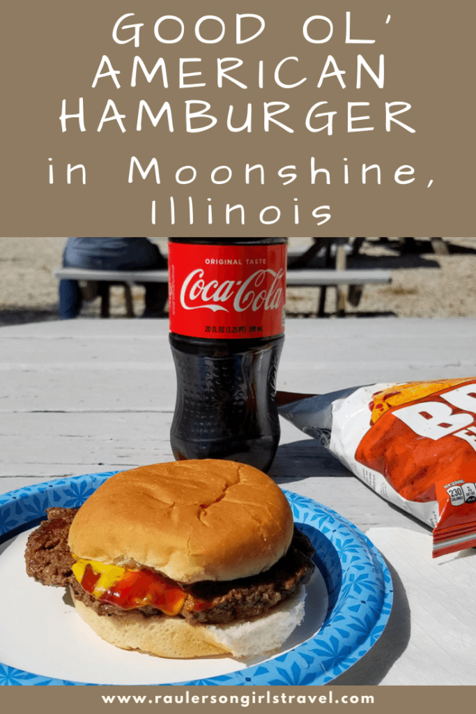 Hamburger in Moonshine, Illinois Pinterest Pin