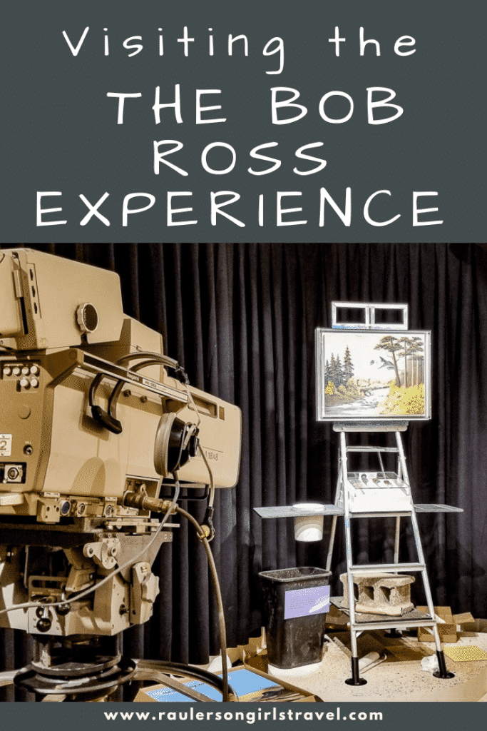 The Bob Ross Experience Pinterest Pin