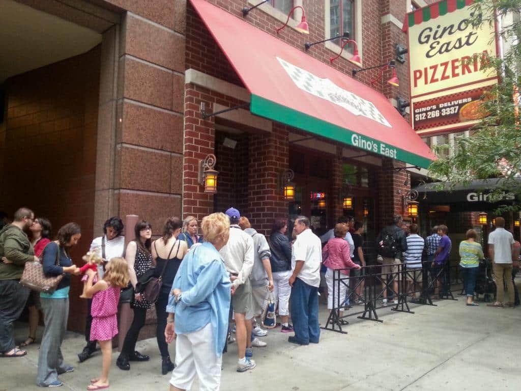 Gino's East Pizzeria