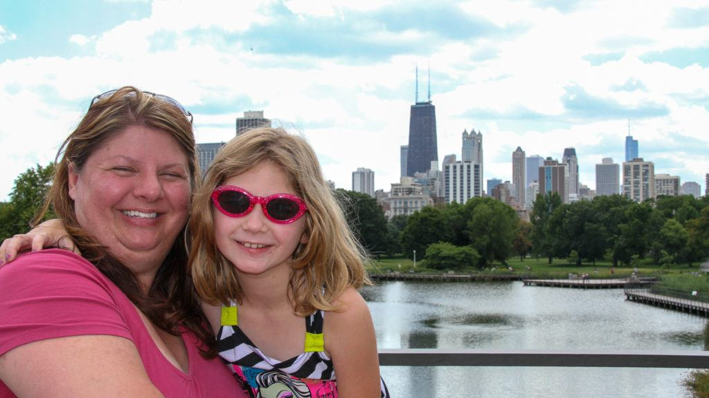 Heather and Madison at Lincoln Park Zoo