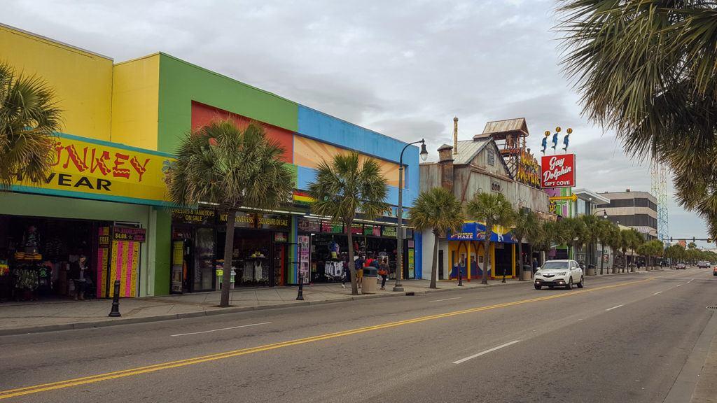Main Street in Myrtle Beach