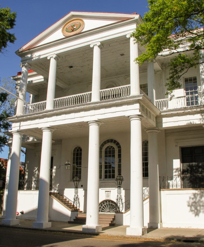 Andrews Society Hall in Charleston
