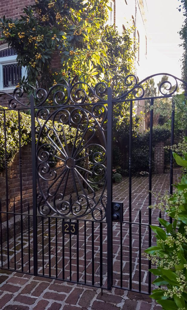 Wrought Iron Gate in Charleston