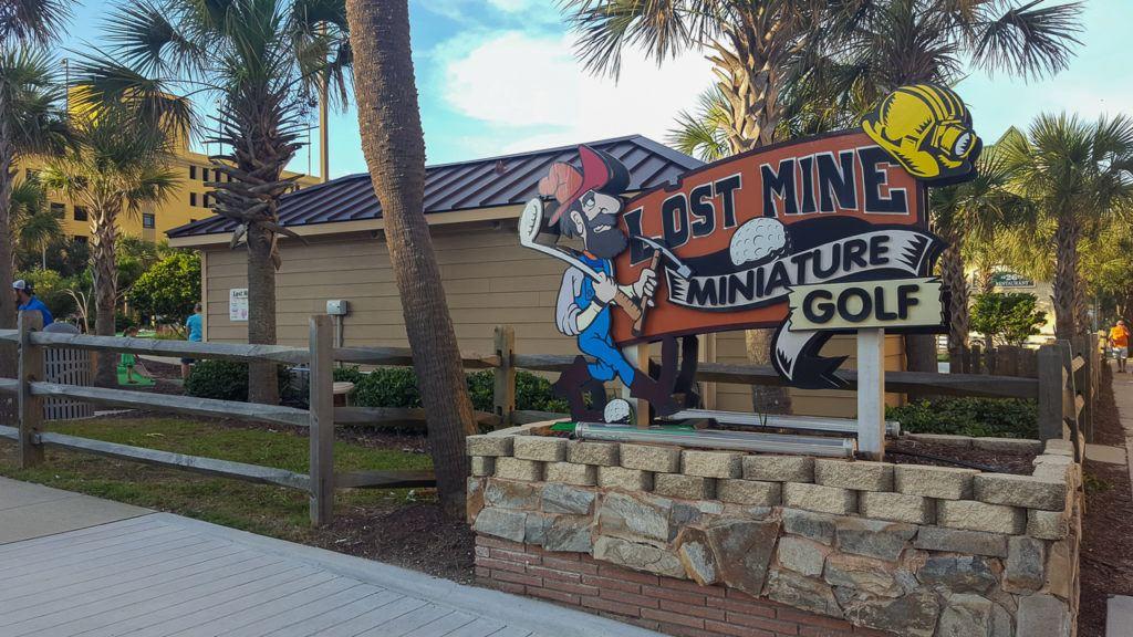Lost Mine Miniature Golf in Myrtle Beach