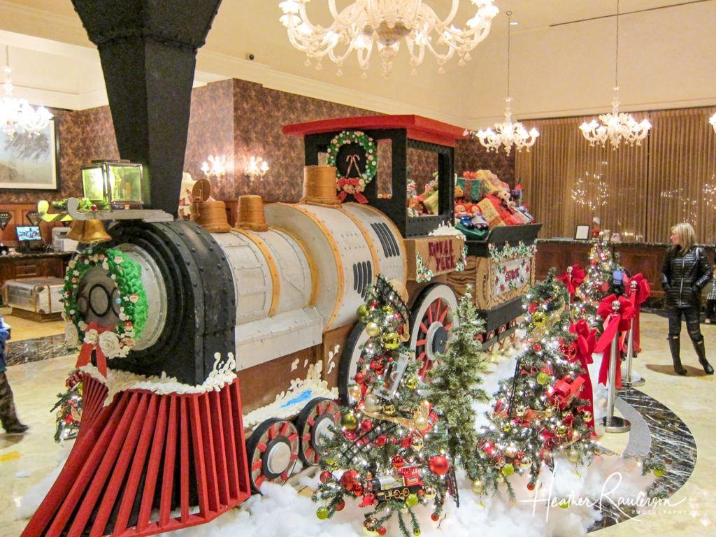 Gingerbread Express at the Royal Park Hotel